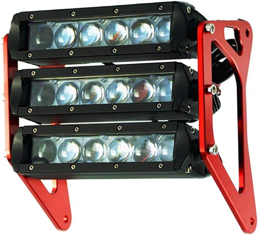 Silver Baosity Aluminum Motorcycle Led Headlight Front Fork Light for Honda Grom 125 MSX125