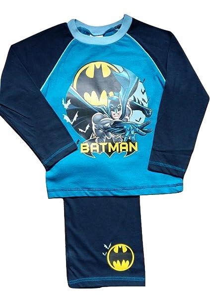 DC Comics Joven Batman Pijama. Azul Blau - Blau