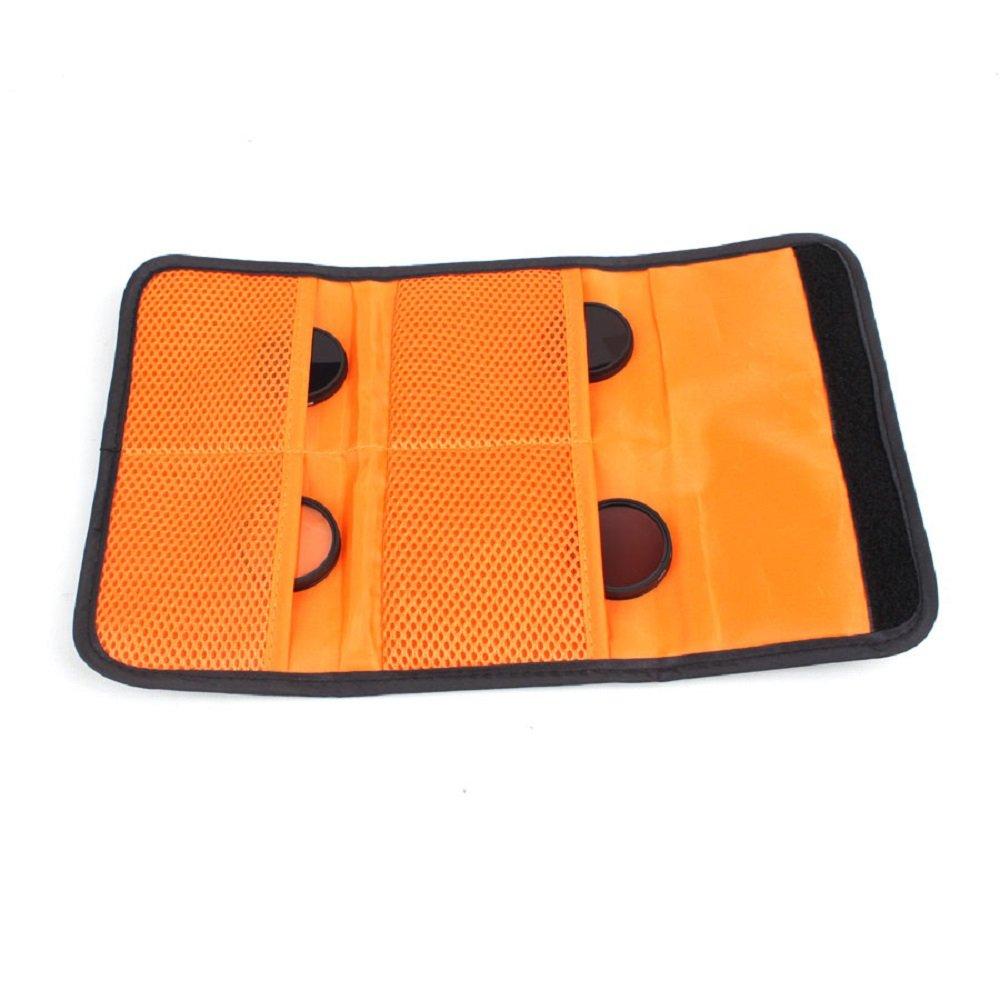 Hensych é tui portefeuille de filtre pour objectif 3 4 6 poches Sac de filtration pour DJI Phantom 2 3 4 Osmo Camera MCUV CPL filtre ND Taille 25 mm –  86 mm Pouch, 4 Pocket HSYC Tech