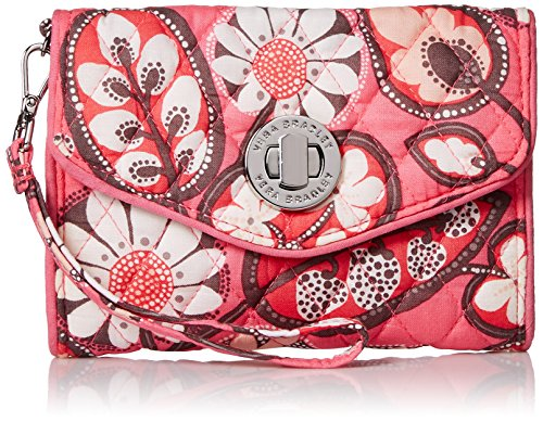 Vera Bradley Your Turn Smartphone Wristlet, Blush Pink, One Size