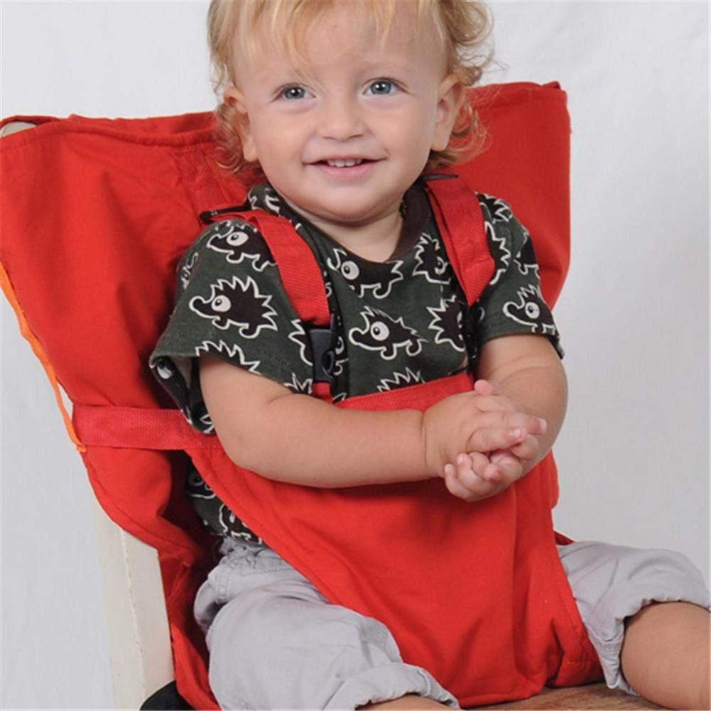 Funihut B/éb/é Portable Chaise Haute Voyage Si/èges Housse De S/écurit/é pour Tout-Petits Chaise Haute Sangle Infantile Ceinture Sangle De Si/ège dalimentation