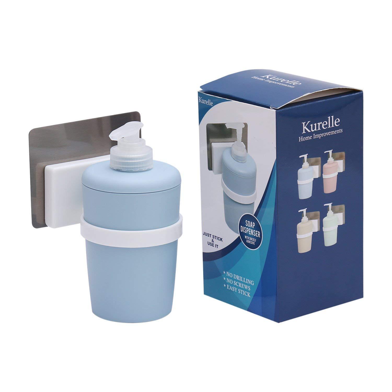 Kurelle Dispenser Sapone Liquido e Bicchiere Portaspazzolino per Bagno e Cucina Others