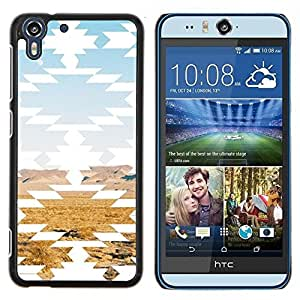 Stuss Case / Funda Carcasa protectora - Paisaje del desierto Arte Rocas - HTC Desire Eye M910x