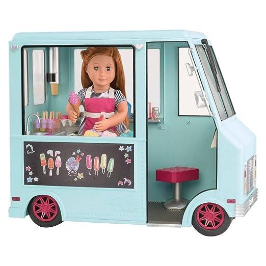 Amazon.es: Our Generation BD37252Z - Camión de helados para muñecas: Juguetes y juegos