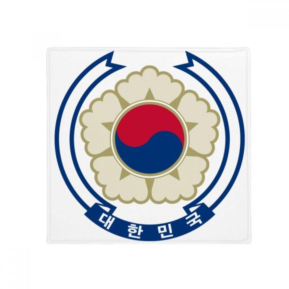 DIYthinker Korea National Emblem Country Anti-Slip Floor Pet Mat Square Home Kitchen Door 80Cm Gift