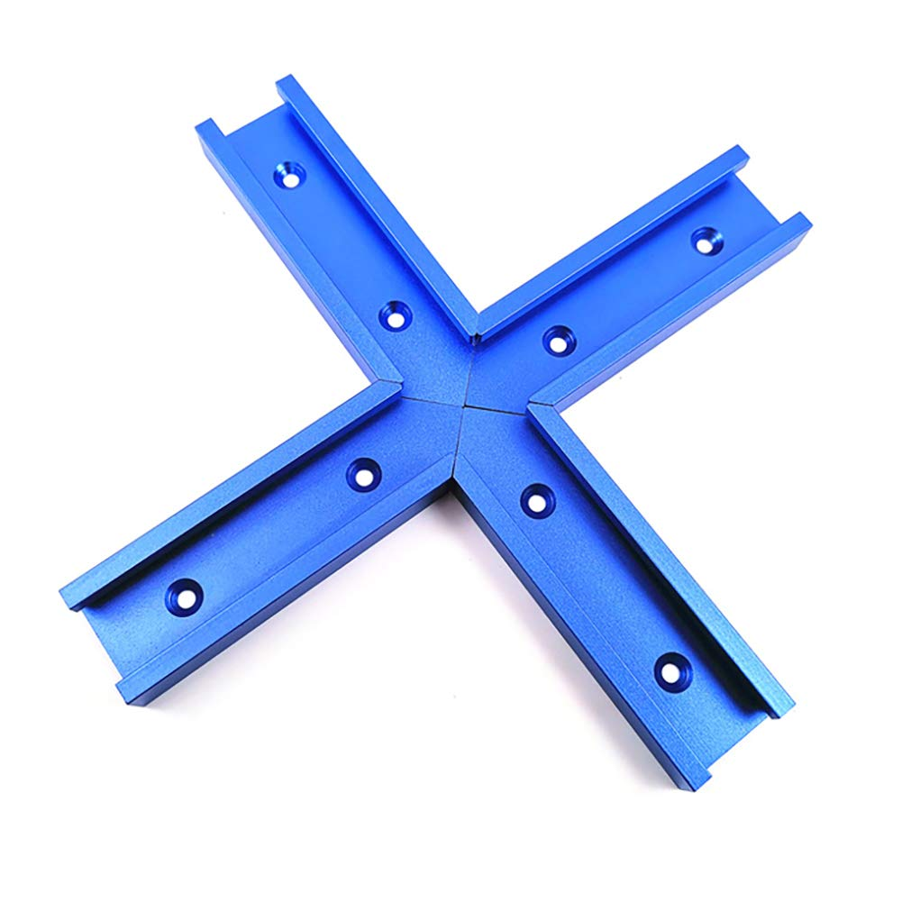 Belupai Blue 300-1200 mm ranura en T para sierra de mesa Router Table Woodworking Tool