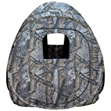Big Dog Treestands Pop up Blind, 60 X 60 X 68-Inch H/9.5-Pounds, Timberstrike