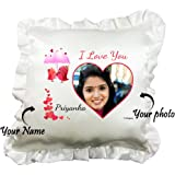 LOve Bird Personalized Frill Cushion Pillow, , gifts for her, gifts for him, gifts for couple, love gifts, valentine gifts, karvachauth gifts, gifts for husband, gifts for wife, gifts for fiance, girlfriend gifts, gifts for boyfriend, valentine gifts , romantic gifts, express love, best couple gifts, loved ones gifts, anniversary gifts, gifts for anniversary, gifts for wife's birthday, birthday gifts for husband, i love you gifts, gifts for love, gifts for her