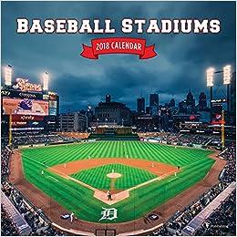 2018 Baseball Stadiums Wall Calendar: Muneesh Jain: 0619344320332