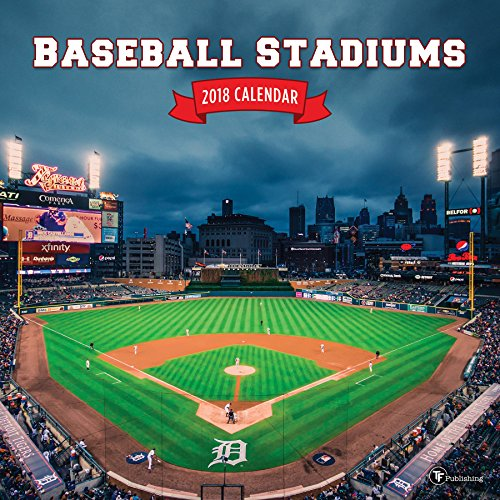 2018 Baseball Stadiums Wall Calendar cover
