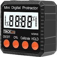 Tacklife--MDP02- Avanzado Medidor de angulos Inclinometer digital transportador