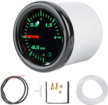 2/'/' 52mm Universal Car EVO Digital Turbo Boost Gauge Psi Meter with Sensor