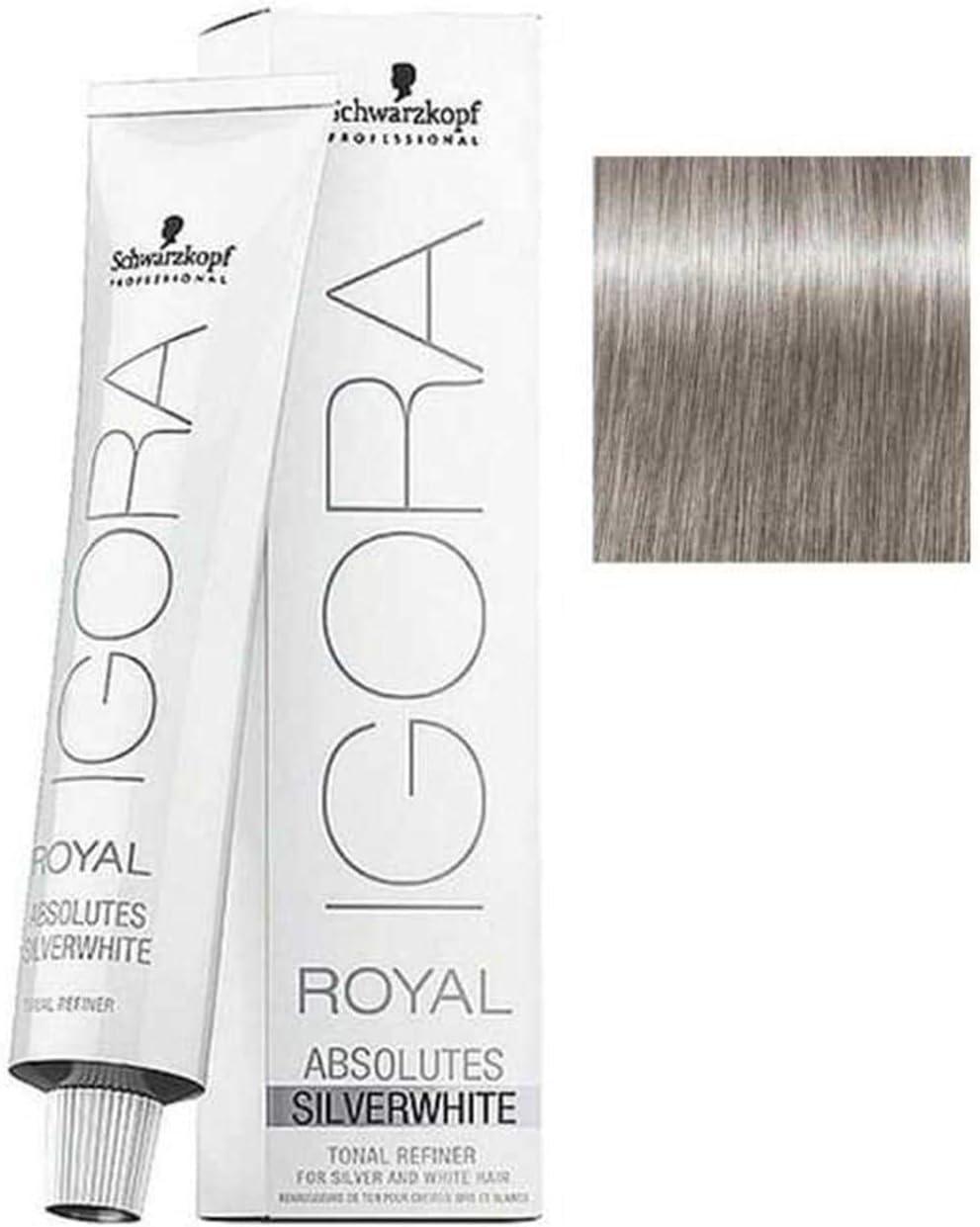 Schwarzkopf SilverWhite Igora Royal Dove Grey 60ml