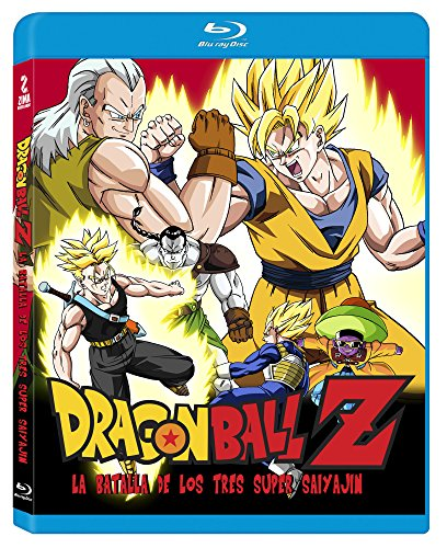 Dragon Ball Z Super Battle Of Three Super Saiyas En Español Latino Region Free Akira Toriyama Movies Tv