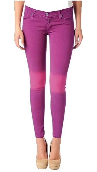 HUDSON Womens Krista Super Skinny Jeans in Pink Size 24