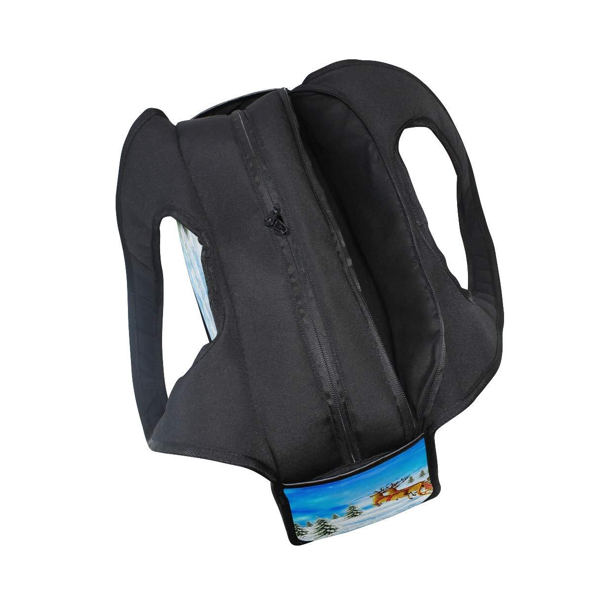 70c2c91d8459 Amazon.com  HUVATT Gym Bag Happy Christmas Day Women Yoga Canvas Duffel Bag  Sports Tote Bags for Girls  Sports   Outdoors