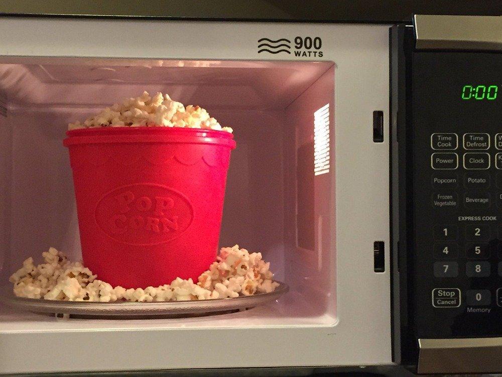 Vistaric WALFOS - Molde de silicona para hacer palomitas de maíz ...