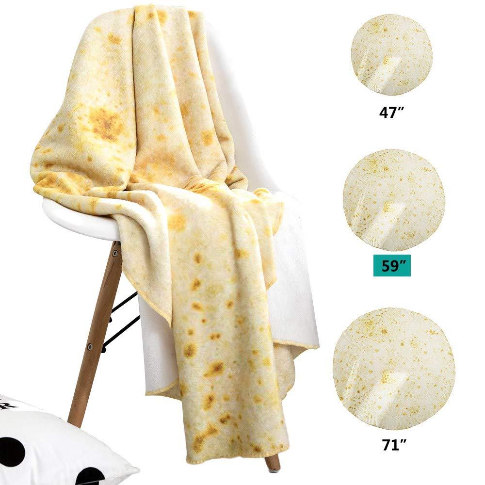 YLLuck Manta de Tortilla para niños, Creaciones de Alimentos ...