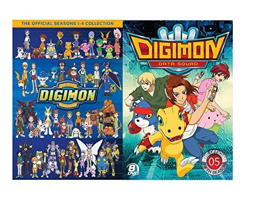Digimon 1-5 : The Official Seasons 1-4 Collection + Digimon Data Squad Season 5 ()