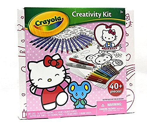 (Crayola Hello Kitty Ultimate Art Kit Jr )