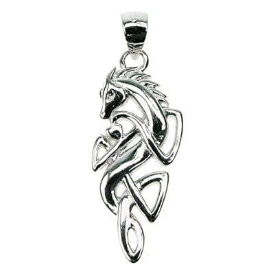 Astral aspects sterling silver celtic horse pendant amazon astral aspects sterling silver celtic horse pendant aloadofball Image collections