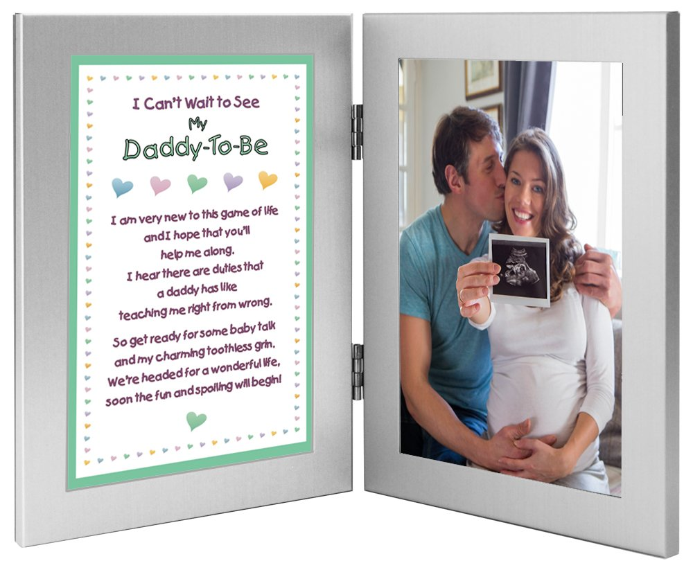 Father To Be Gift, Sweet Daddy Poem, Add Photo - Dad-To-Be or Ultrasound of Baby Poetry Gifts poetrygifts-70-505