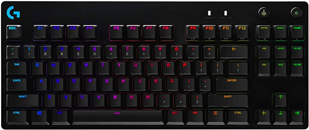Logitech G PRO TKL Tastatur ohne Numpad