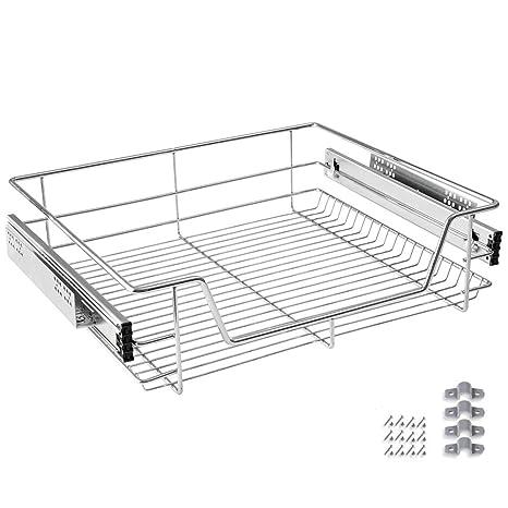 HENGMEI Cajón armario cajón extraíble cajón de cocina Estante Estantería de cocina cesta auszug Dormitorio cajón