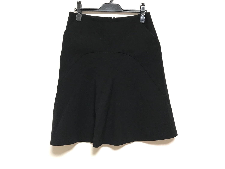 (セリーヌ) CELINE スカート レディース 黒 【中古】 B07FFRS6ZH  -