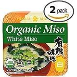 TWIN PACK! Hikari ORGANIC White Miso Paste - 2 tubs, 17.6 oz by Hikari Miso