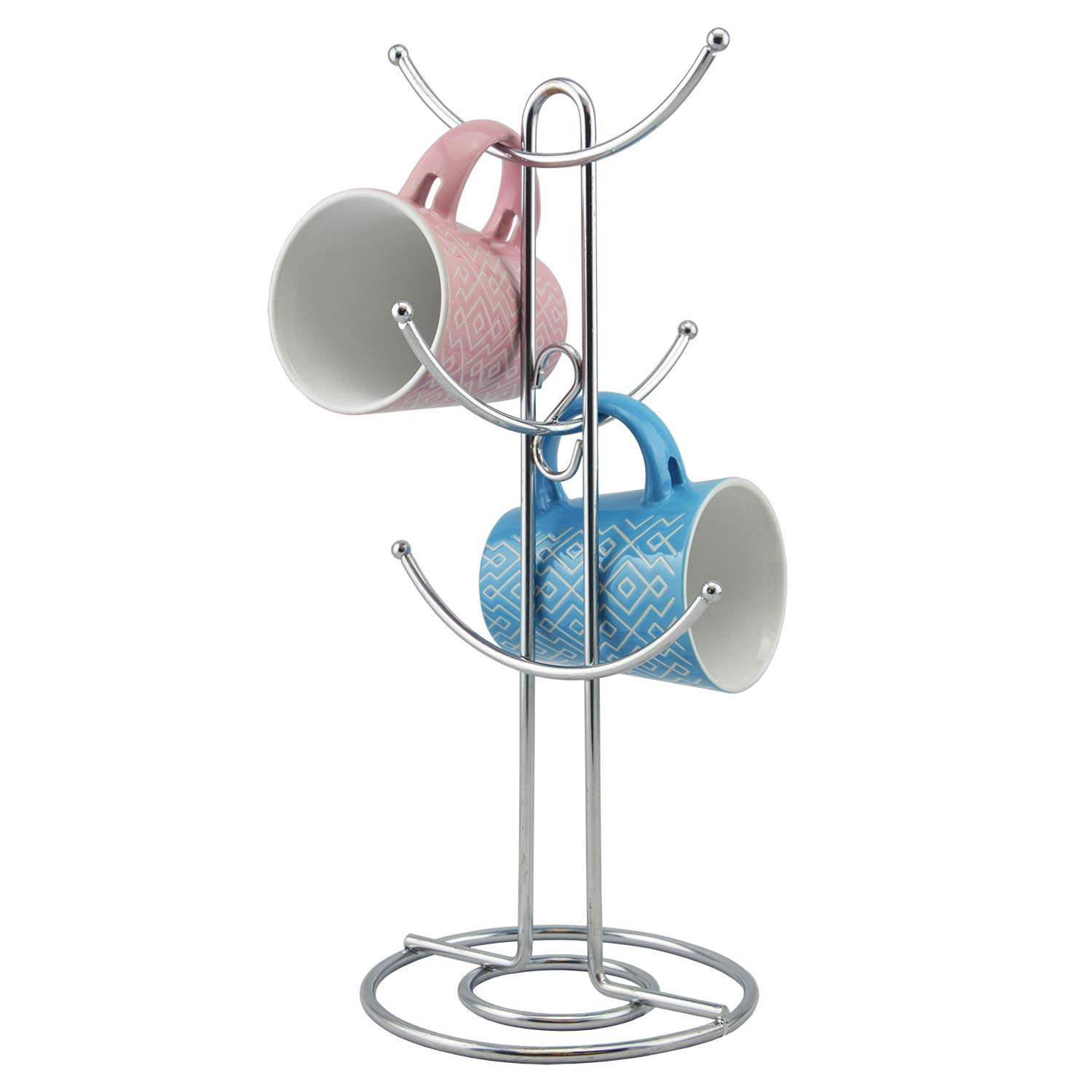 BNYD Coffee Mug Holder Hook Cup Stand Tree