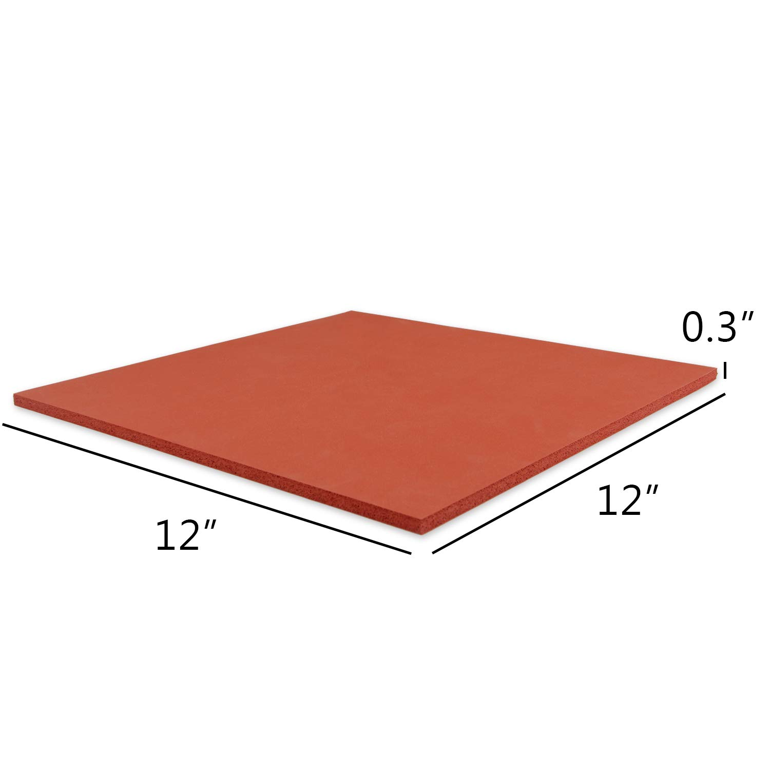 Heat Press Mat Compatible with Cricut Easy Press Luxja 12 x 12 Silicone Pad Compatible with Cricut Easy Press Red