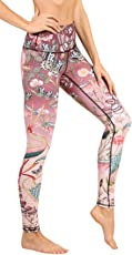 "Yoga Democracy Eco-Friendly Pretty in Pink Leggings (28"" Inseam)"