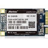 Zheino Q1 内蔵型 MSATA 240GB SSD MLC採用(30*50mm) 3年保証 MSATAIII 6Gb/s mSATA ミニ ハードディスク(Not TLC Not 3D NAND Flash)