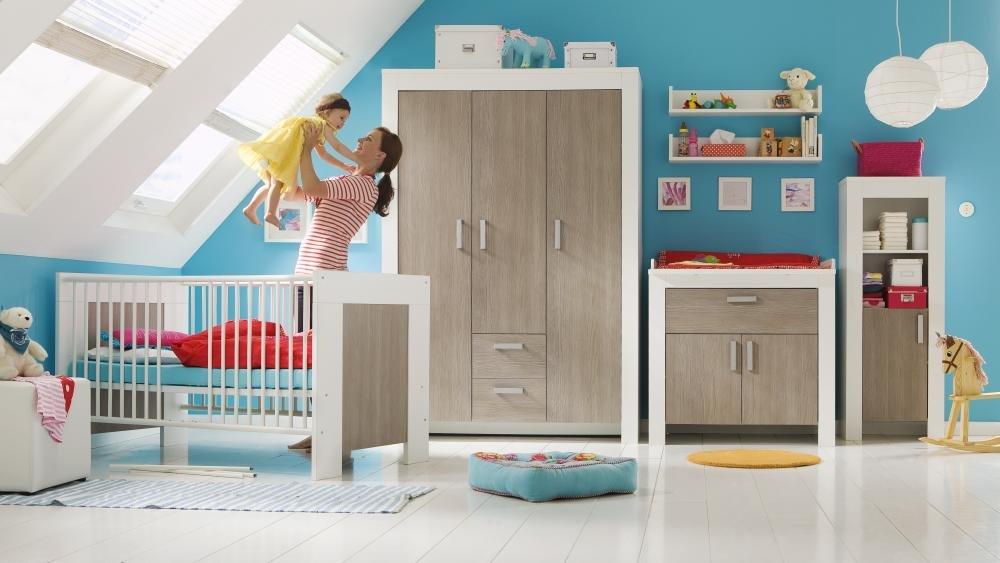 Janne 6TLG. Baby habitaciones cambiador Baby Cama: Amazon.es ...