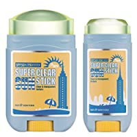 May NewYork Sunscreen Stick x2PACK Super Clear Pure Sunstick SPF50+ PA++++ - Convenient...