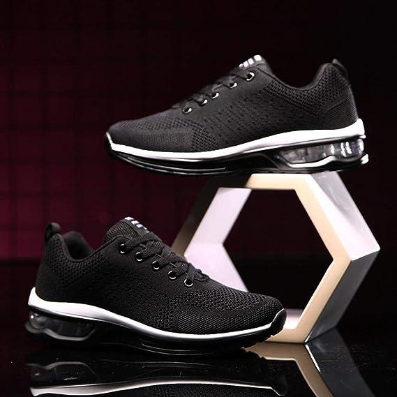 ZHRUI Pareja Modelos Flying Zapatos de Malla Tejida con ...