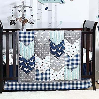 Woodland Trail Baby Crib Bedding Sets by The Peanut Shell