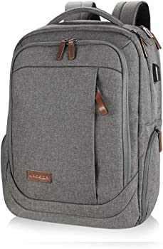 Kroser Laptop Backpack with USB Charging Port Water-Repellent