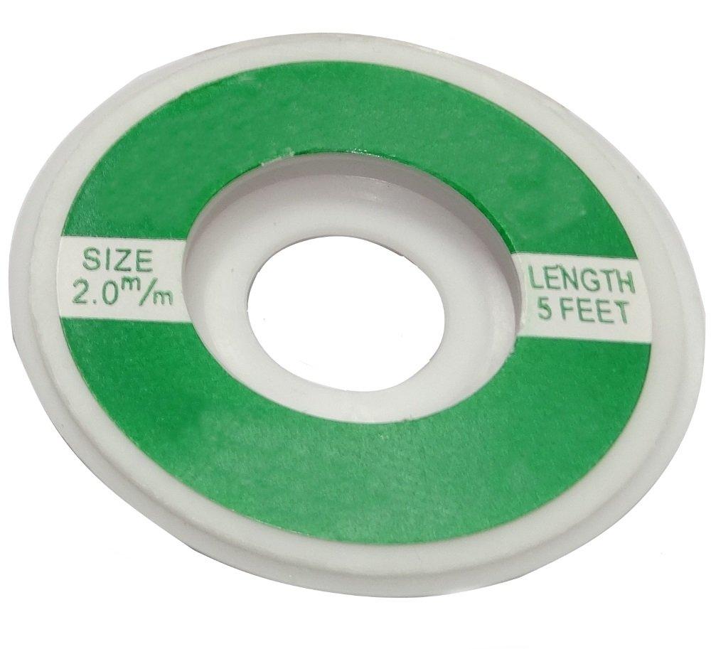 Aerzetix: Tresse Ruban Bande à dessouder dessoudage cuivre 2mm/1.6m SK2-C13459-AC451
