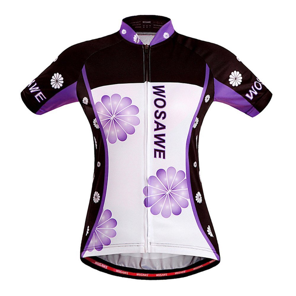 Cycling Jersey Women Wosawe Bike Shirts Ladies Biking Clothing Wosawe Cycling Jersey
