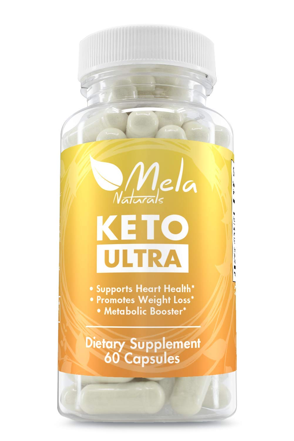 Premium ketogenic Weight Loss Herbal Supplement. with 7 Fat Burning Ingredients. Promotes Weight Loss and Heart Health. Helps speeds up Metabolism to Burn Fat While in ketosis by Mela Natutals (Image #1)