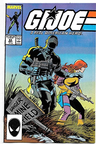 GI JOE #63, VF, Marvel, Larry Hama, Ron Wagner, 1982 1987, War