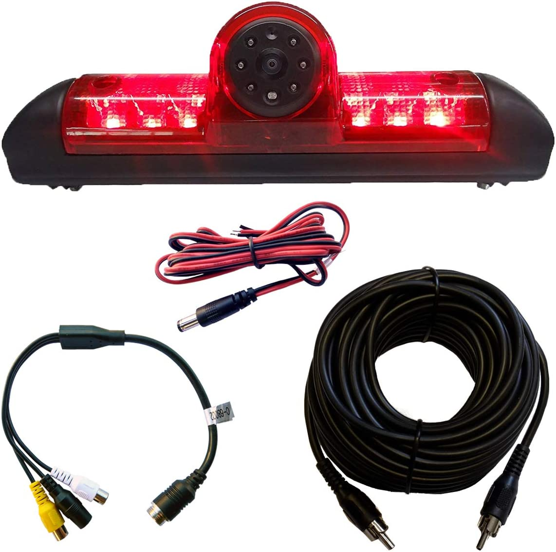 Luz de frenado camara de vision trasera LED para Fiat Ducato citroen Relay Peugeot Boxer IVA