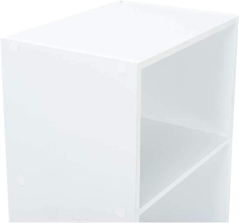 4 tiroirs 82 x 40 x 40 cm WERKAPRO 9668 Livr/é en Kit Blanc Meuble de rangement sur Roulettes