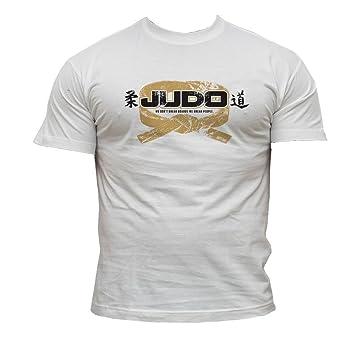 Dirty Ray Kampfsport Judo Herren Kurzarm T-Shirt DT11F (S)
