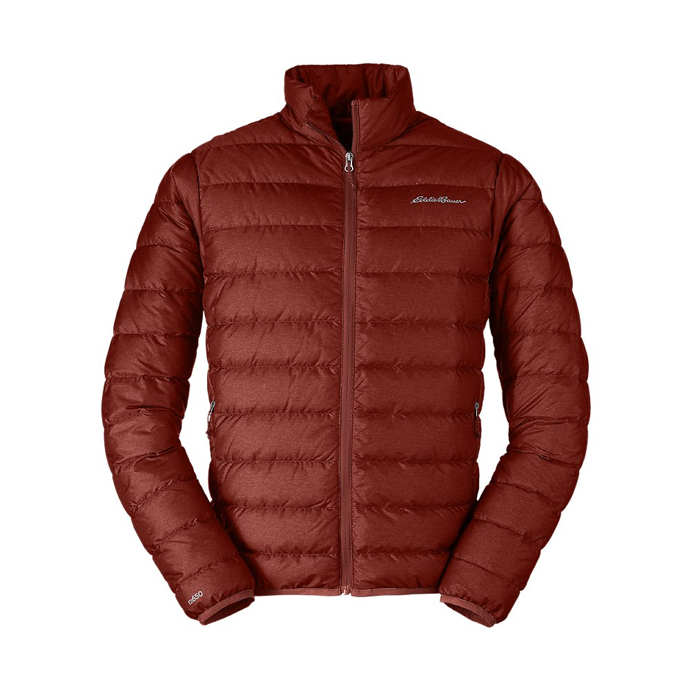 Eddie Bauer Men's CirrusLite Down Jacket, Russet Regular XL