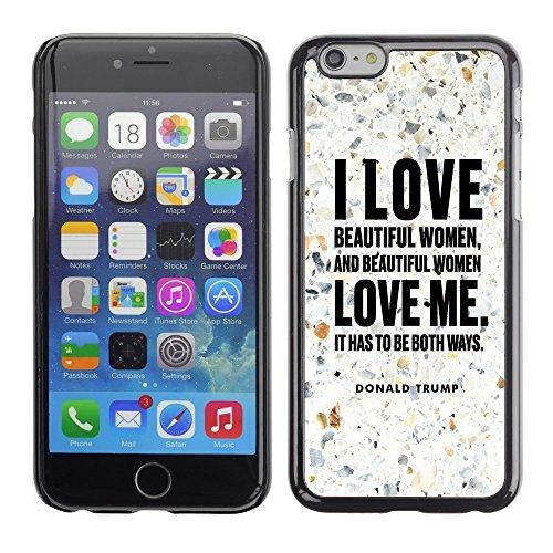 """Print Motif Coque de protection Case Cover // Q04040535 Donald Trump pavement // Apple iPhone 6 6S 6G 4.7"""""""
