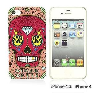 Skull Pattern Hardback For Ipod Touch 4 Case CoverPink Sugar Skull