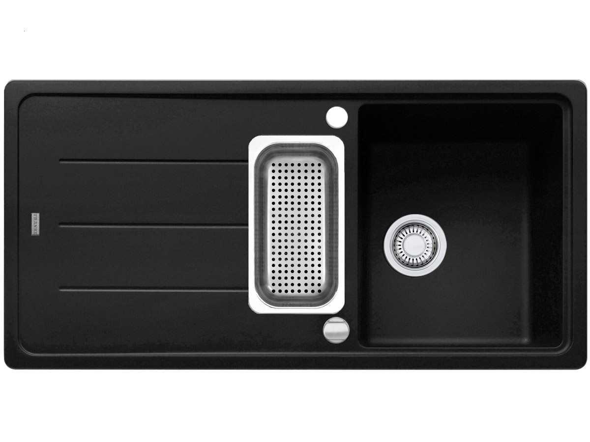 Franke Basis BFG 651 Onyx Fragranit Spüle Schwarz Küchenspüle Spültisch  Granit